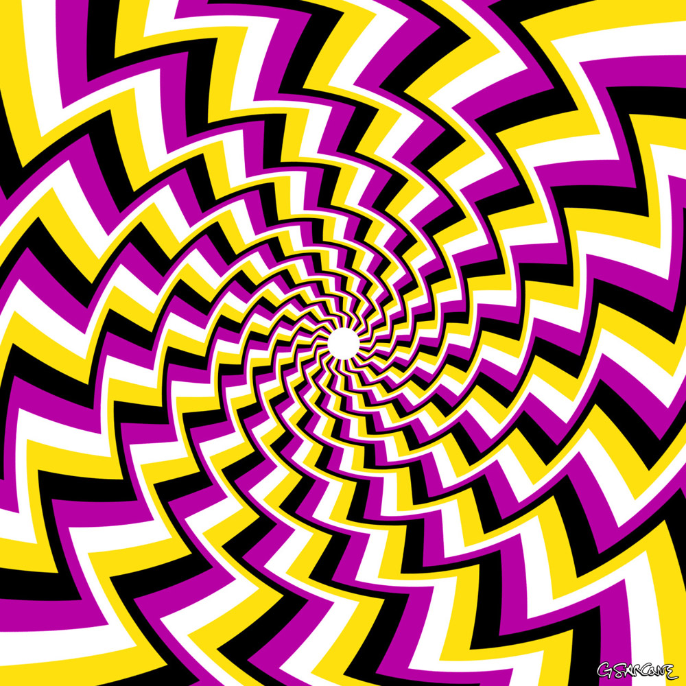 Art: Autokinetic Op Art By Gianni A. Sarcone