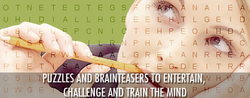 puzzles and brainteasers to entertain, challenge and train the mind