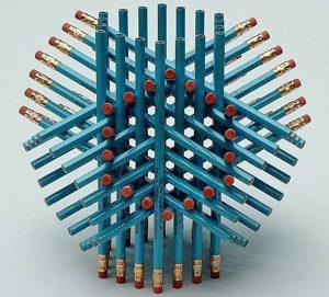 pencil structure