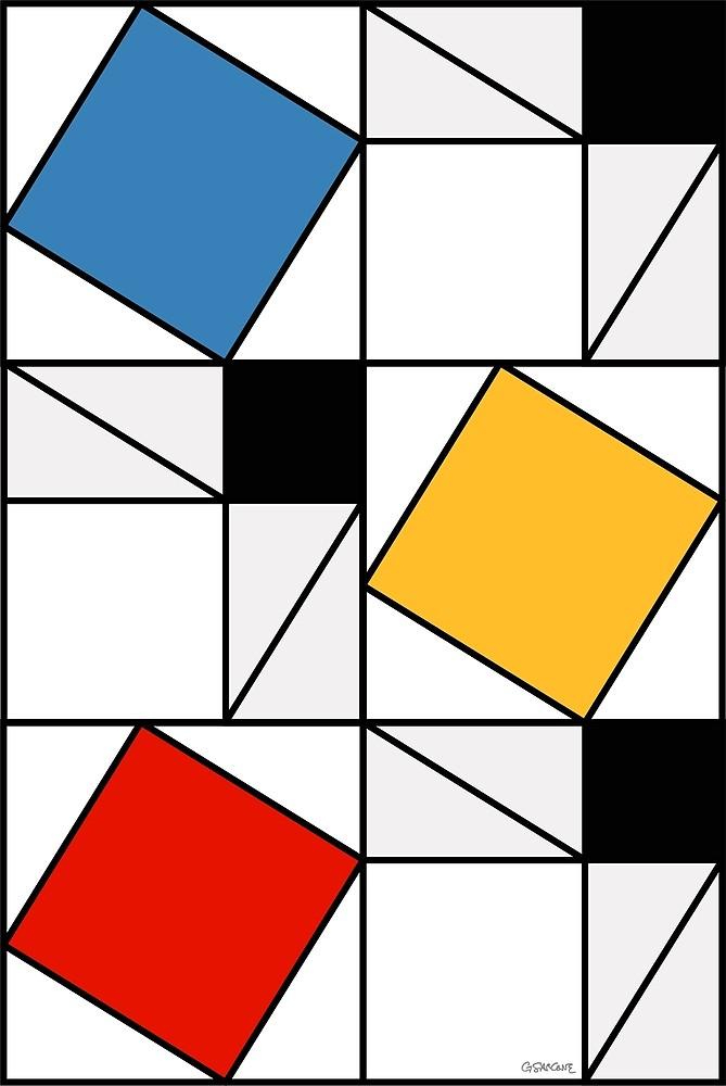 Mondrian meets Pythagoras