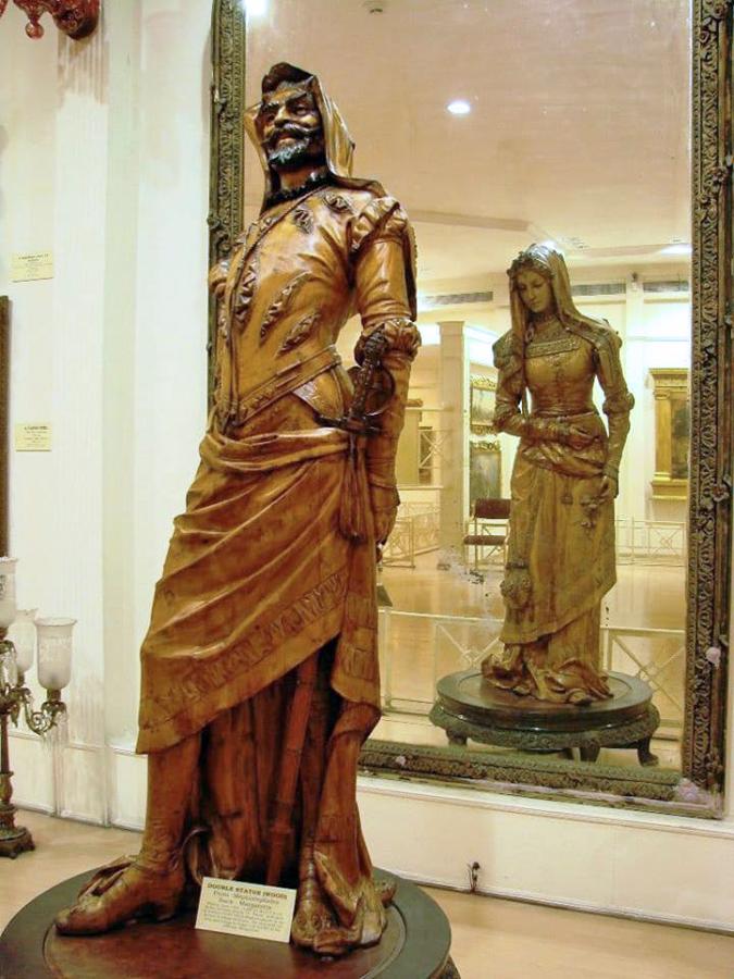 double statue Mephistophele Margareta